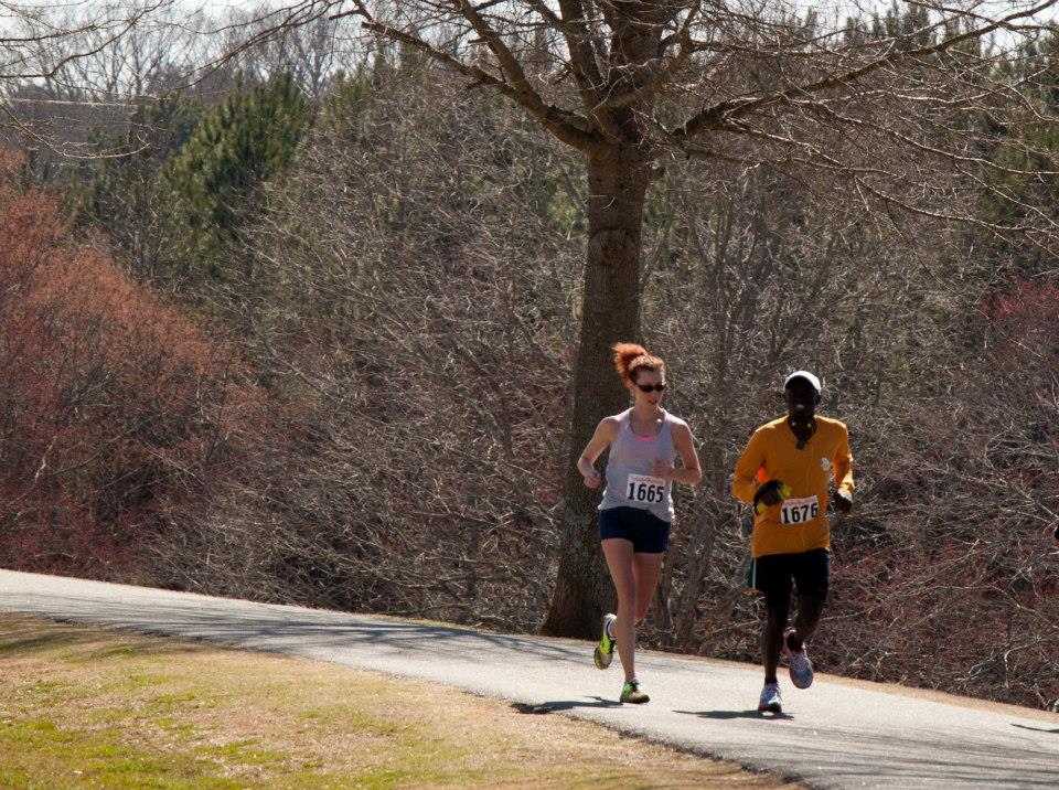 I ran some with eventual winner Errol. He is so nice and an amazing runner! Photo from: https://www.facebook.com/samanthataylorphoto)