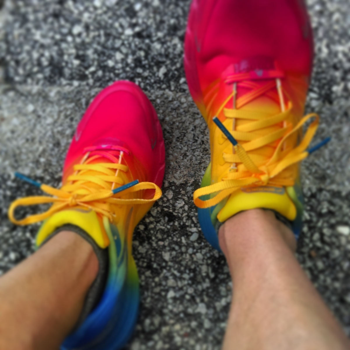 These make me feel like Rainbow Brite, but faster.